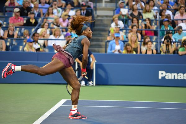 Serena William,  2013 US Open.
