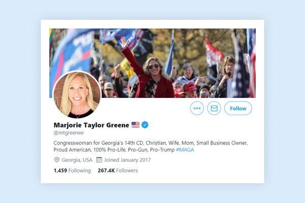 Twitter temporarily suspends account of Republican congresswoman Marjorie Taylor Greene