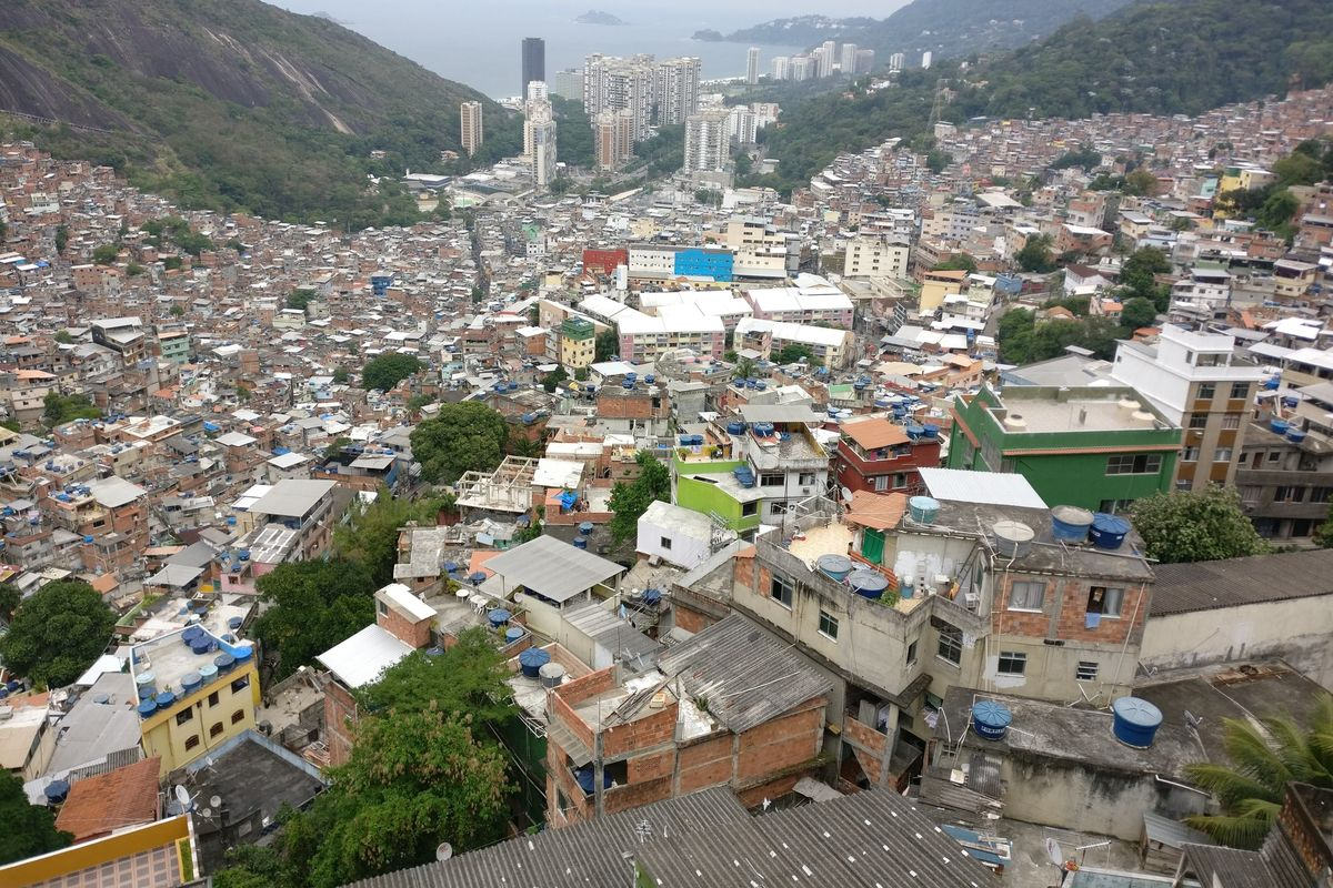 Rio de Janeiro gangs are pushing medication and supplies to their communities