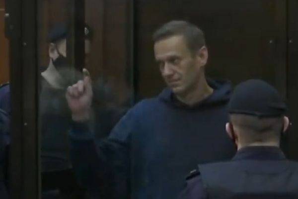 Navalny has been sentenced to serve 3,5 years in a penal colony