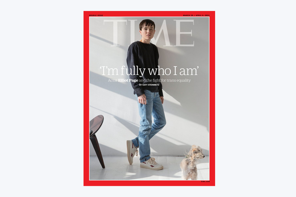Elliot Page becomes first trans man on Time magazine cover