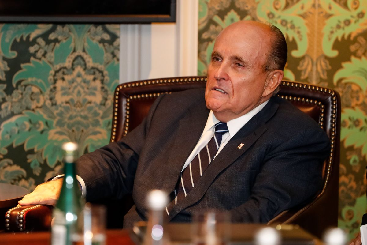 Donald Trump says lawyer Rudy Giuliani tested positive for Covid-19