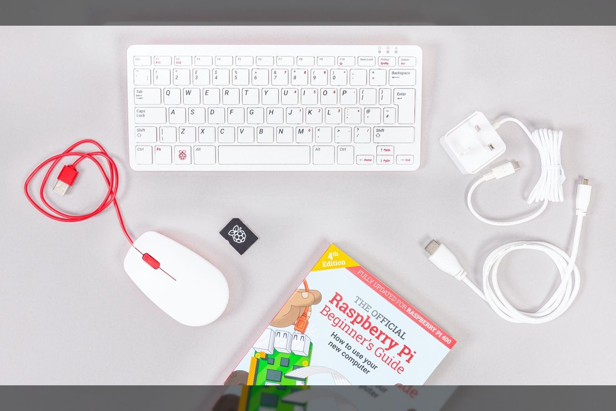 Raspberry Pi 400 packs a full computer into a keyboard for $70