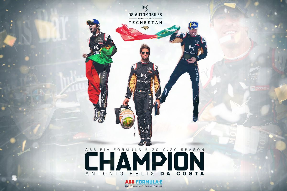 Da Costa crowned Formula E Champion