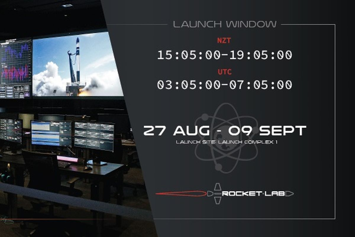 Rocket Lab sets next Electron launch to August 27