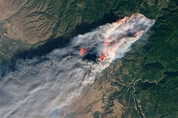 On the morning of November 8, 2018, the Camp Fire erupted 90 miles (140 kilometers) north of Sacramento, California.