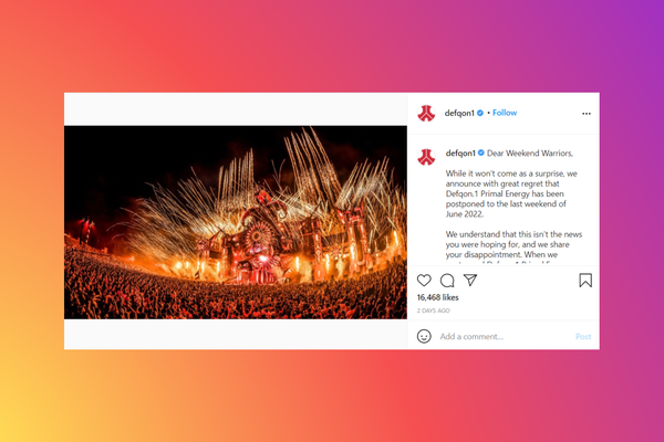 Defqon.1 2021 music festival canceled due to Covid-19