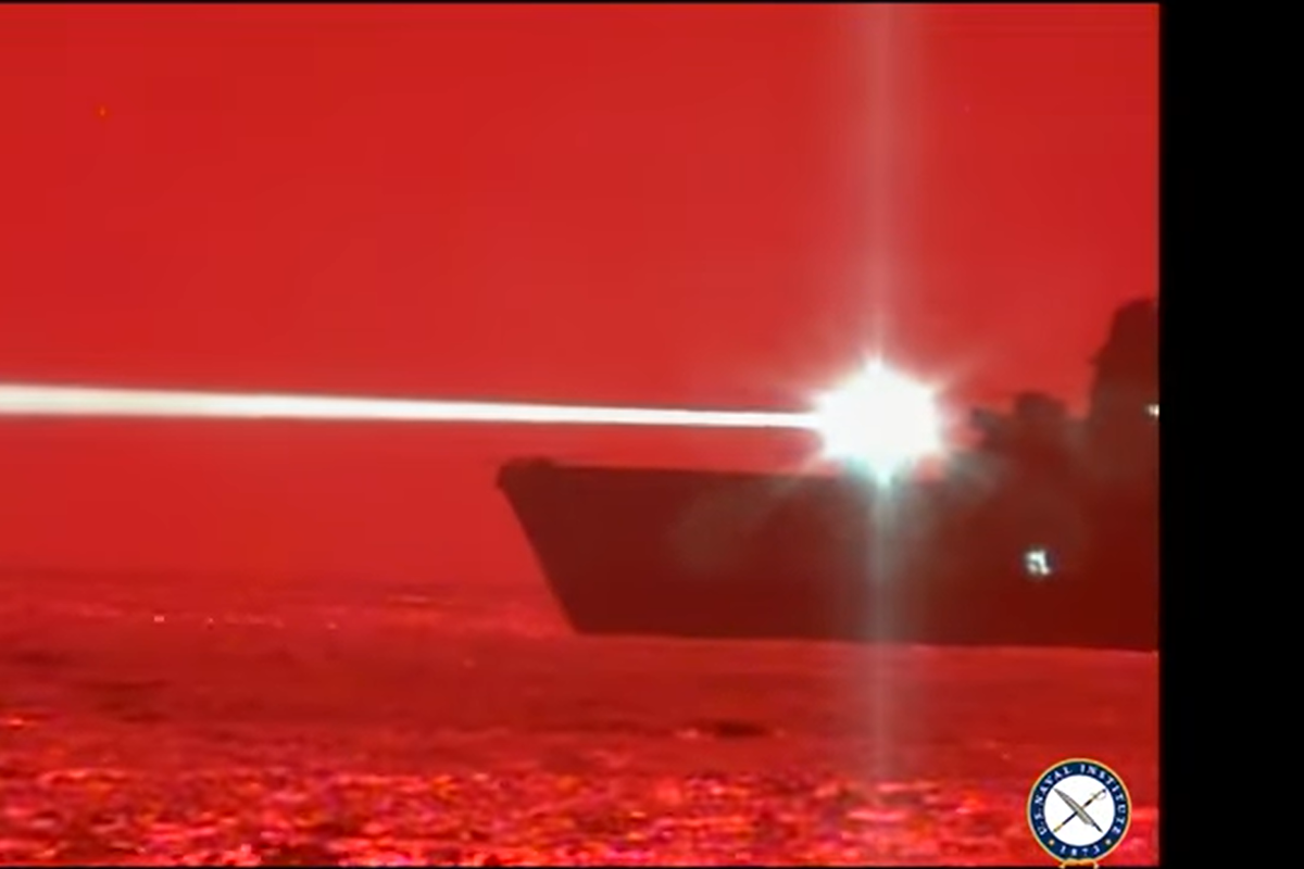 US Navy shoots down drone with high-energy laser during military test
