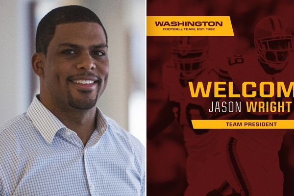 First black president in NFL history hired by Washington