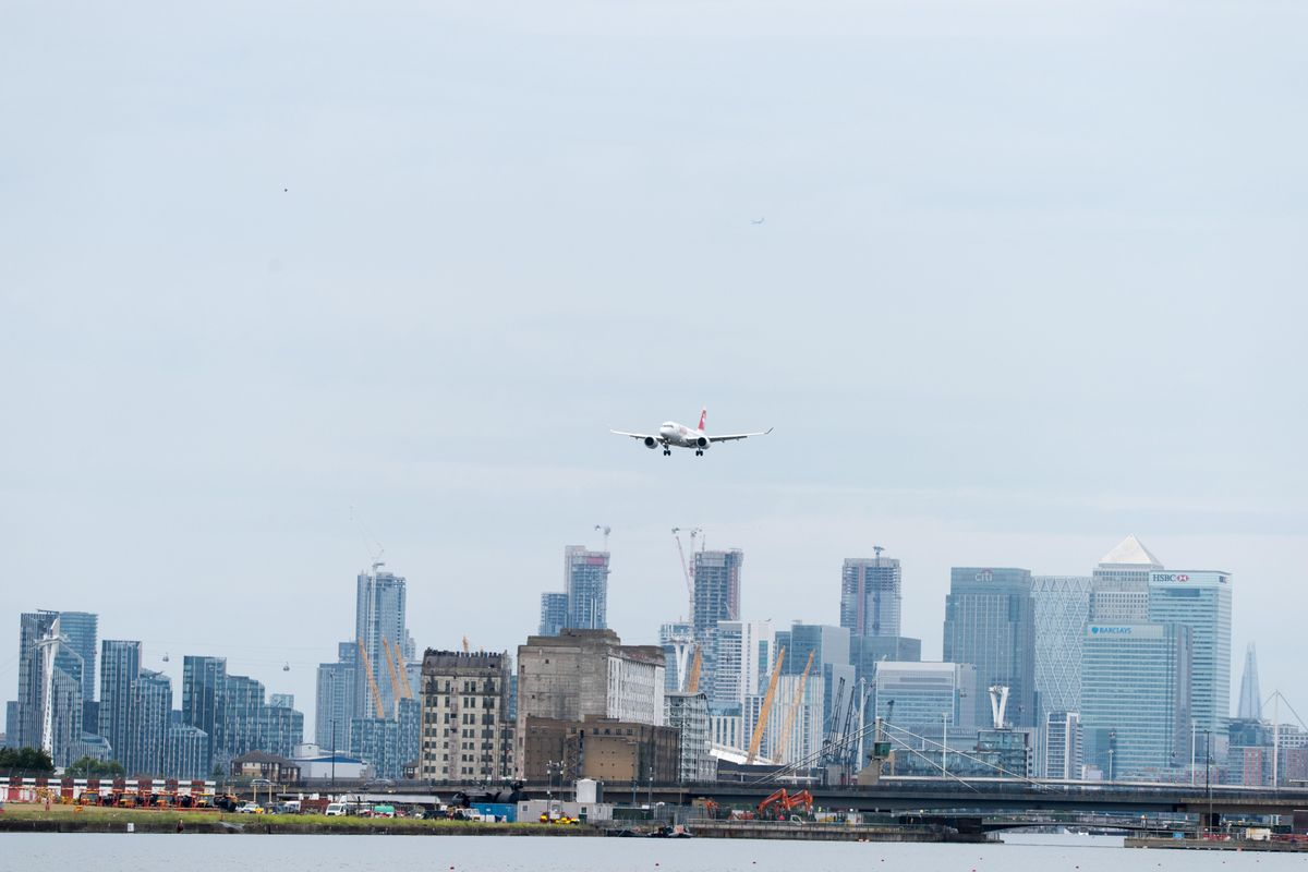 London City Airport reopens and resumes commercial air travel