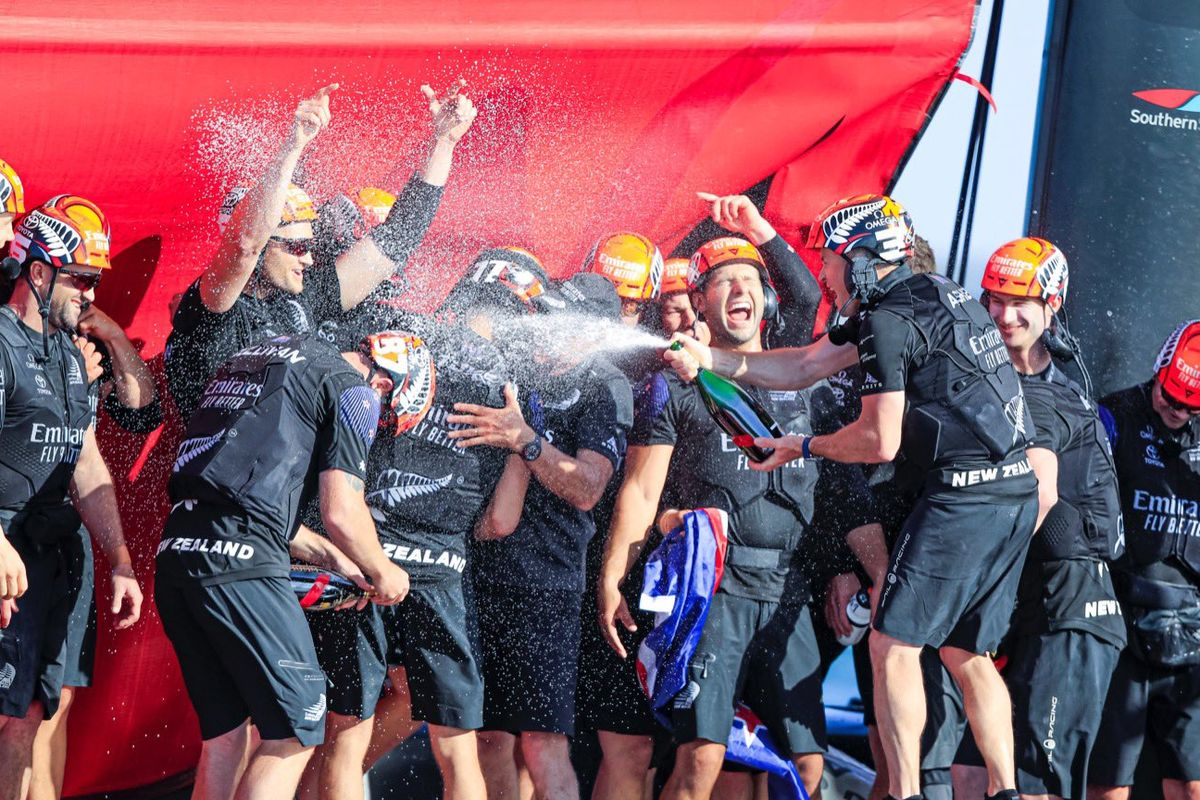 Team New Zealand beat Italy's Luna Rossa to retain America's Cup