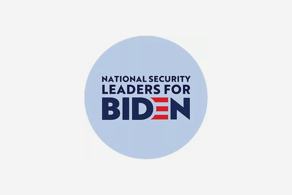 """National Security Leaders for Biden"" publish ""open letter to America"""