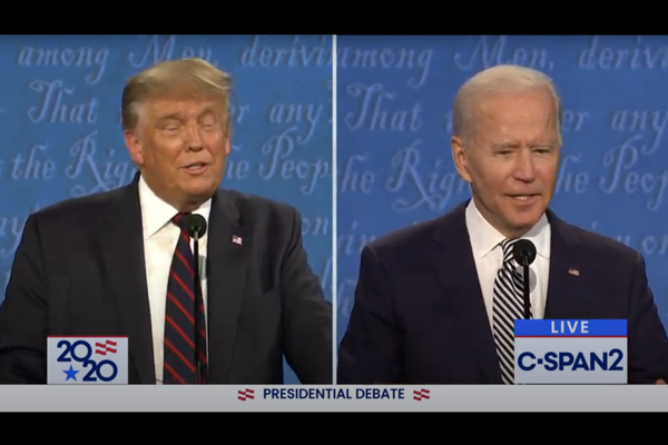 Trump and Biden face off in first presidential debate