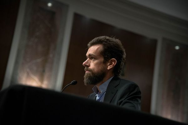 Jack Dorsey, co-founder and CEO of Twitter, testifying before the Senate Intelligence Committee, September 2018