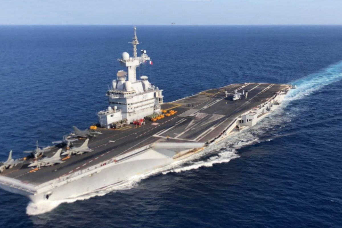 Macron announces start of nuclear-powered aircraft carrier program