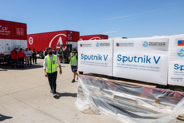 Sputnik V delivered to Argentina