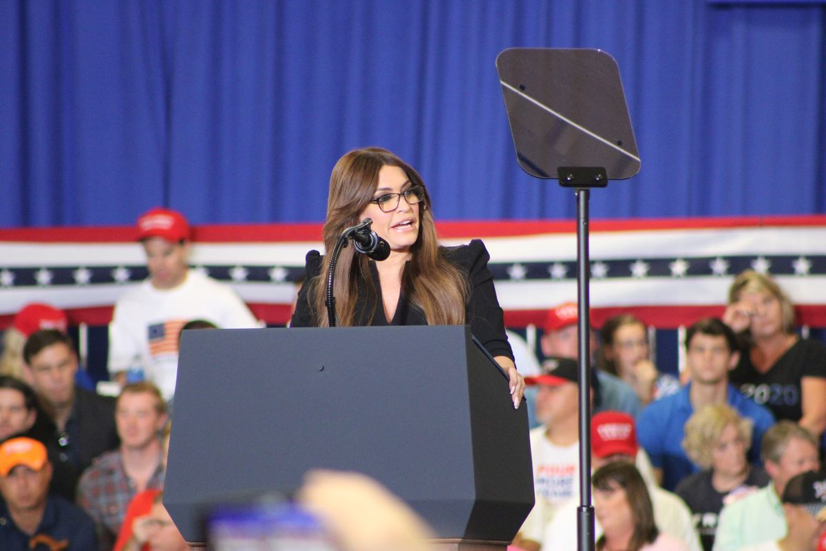 Kimberly Guilfoyle, the girlfriend of Donald Trump Jr, tests positive for Covid-19