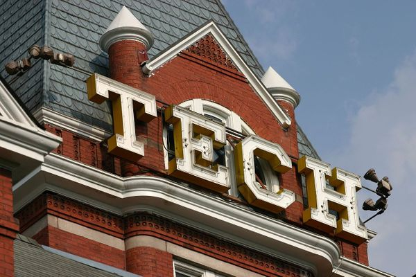 Tech Tower at the Georgia Institute of Technology.