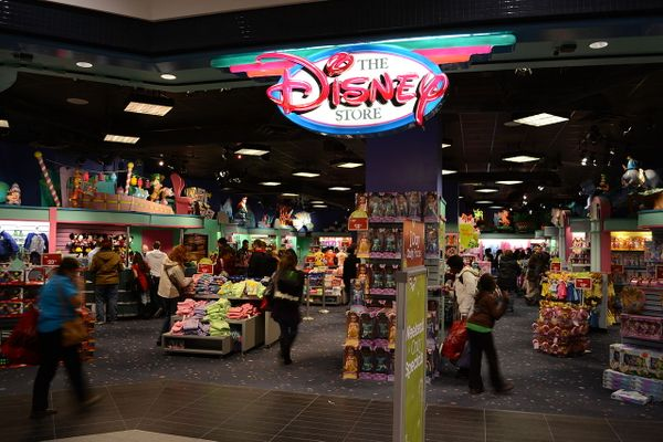 Disney Store in Toronto's Eaton Centre