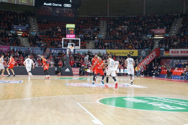 easyCredit BBL game at AudiDome