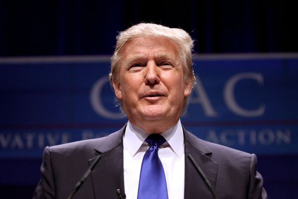 Donald Trump at a previous CPAC edition