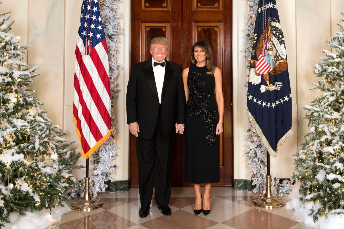 Donald and Melania Trump received Covid vaccine at the White House in January