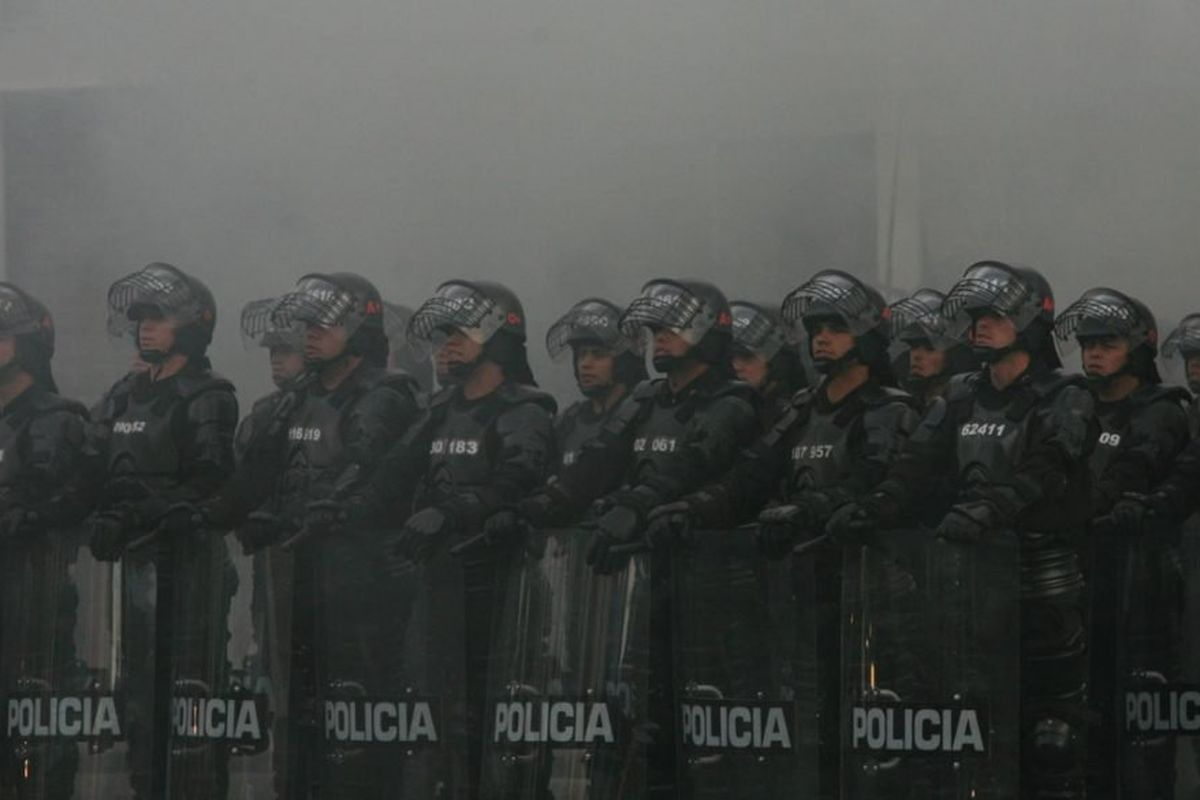 At least 10 killed in protests against police violence in Colombia