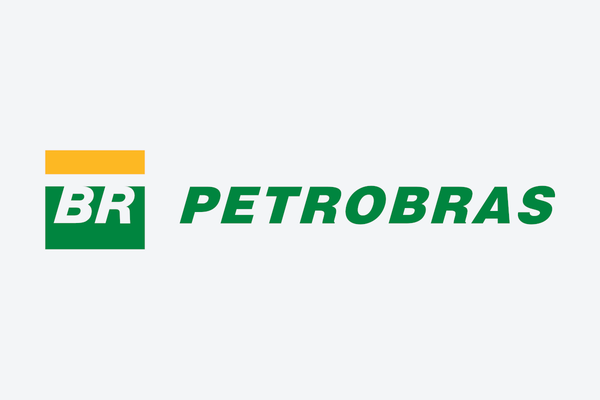 Petrobras horizontal logo, international version