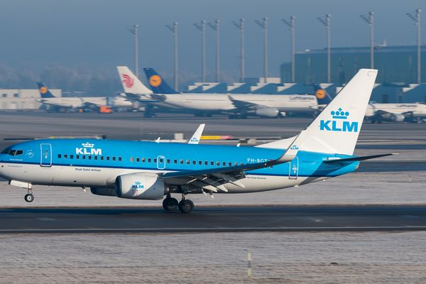A KLM Boeing 737