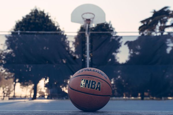 NBA-branded basketball