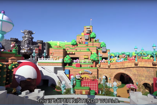 Screenshot of Super Nintendo World Direct
