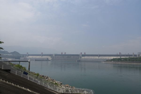Three Gorges Dam in 2019