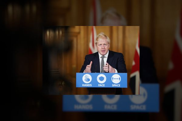 Boris Johnson: England will enter national lockdown as coronavirus surges