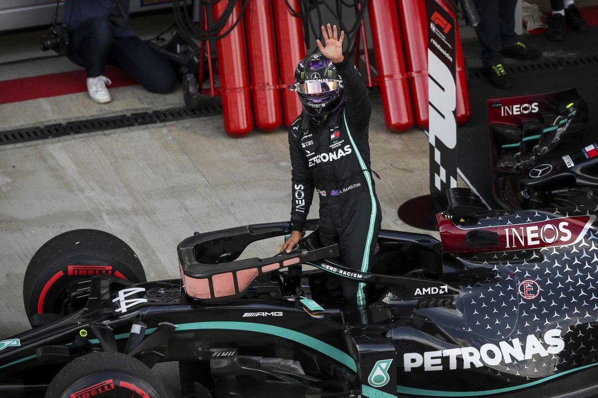 Formula 1: Lewis Hamilton on the pole position in Sochi, the 96th of his career