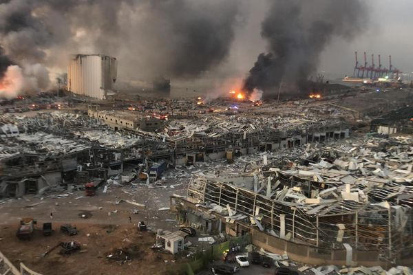 Stored ammonium nitrate cause of Beirut explosion, officials knew of its danger