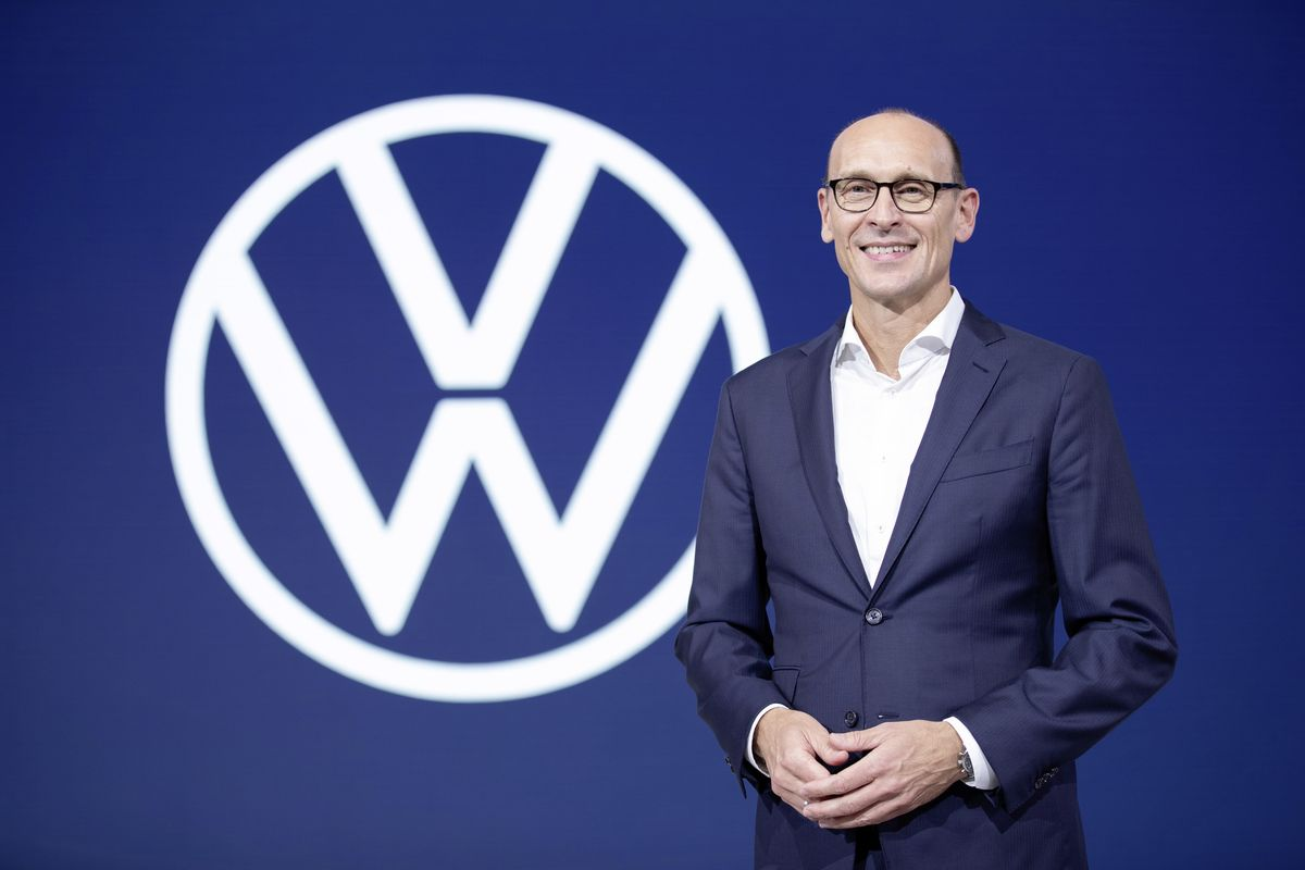 Volkswagen names Ralf Brandstätter as the new CEO of its VW car brand