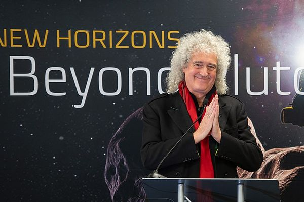 Brian May at Johns Hopkins University Applied Physics Laboratory (APL) in Laurel, Maryland