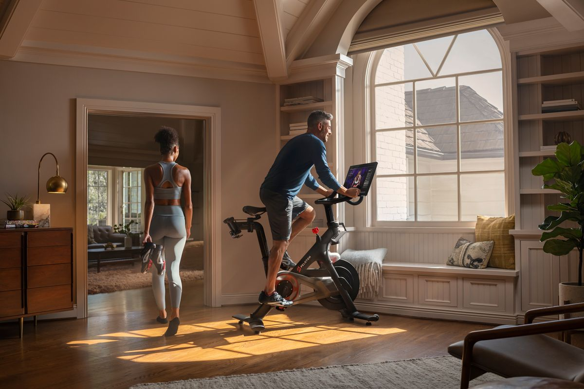 Peloton announced its first-ever quarterly profit amid Covid-19 pandemic-demand spike