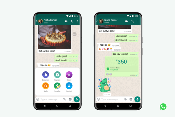 WhatsApp launches payment service in India