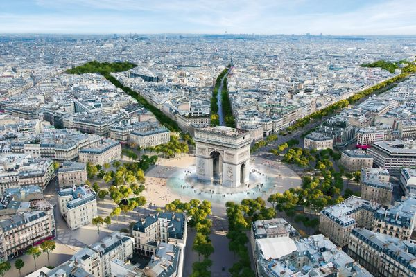 "Champs-Élysées in Paris will be turned into ""extraordinary garden"""