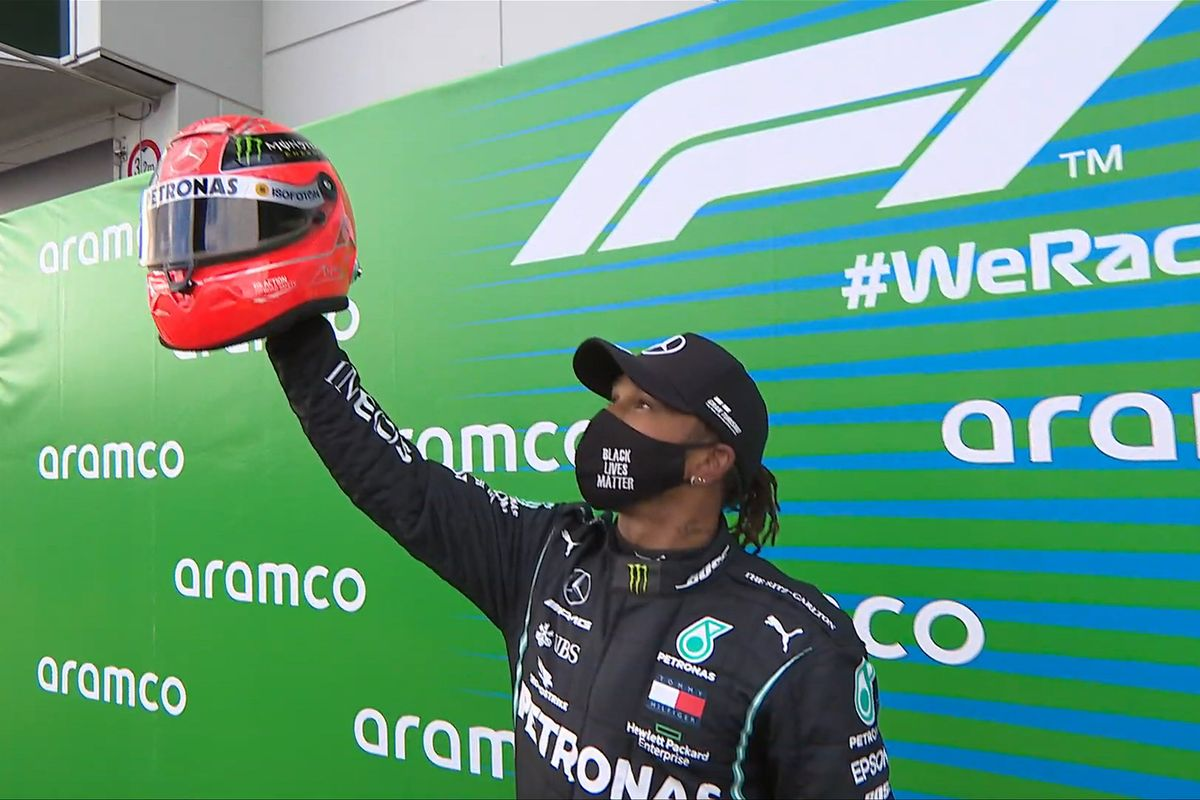 F1: Hamilton matches Schumacher record 91 race wins; Ricciardo reaches podium with Renault