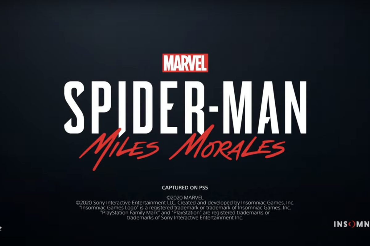 """""""Spider-Man: Miles Morales"""" to be released for PS5 late 2020"""