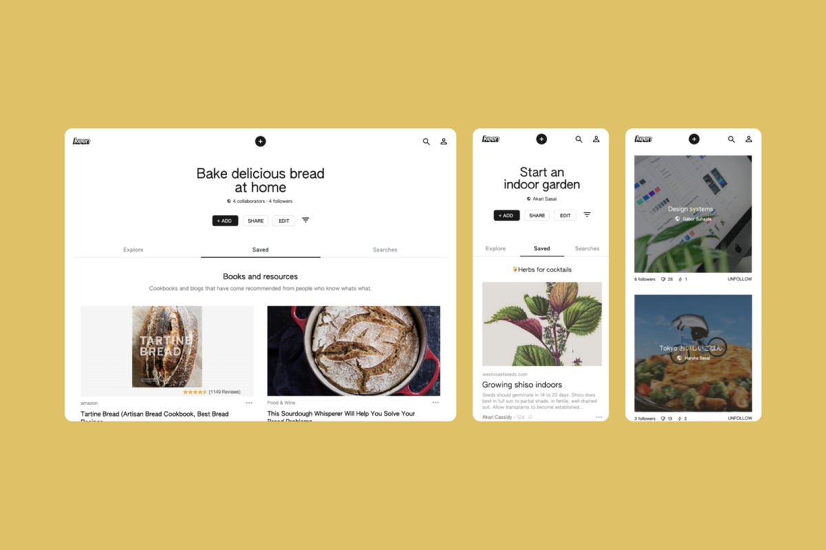 Google launches Pinterest competitor named Keen
