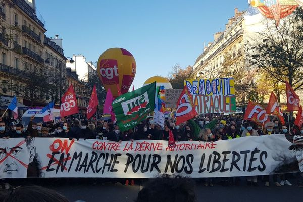 Paris: Thousands gather to protest police violence and the new proposed security law