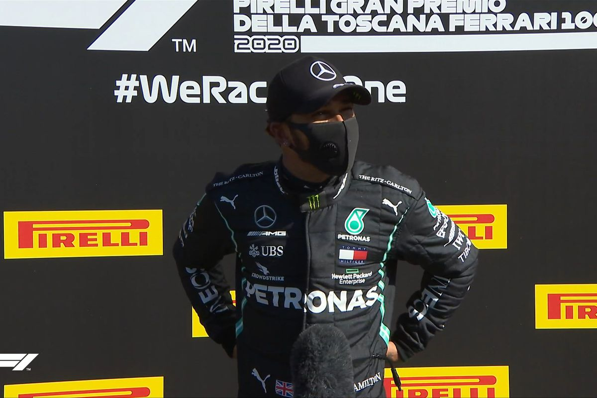 Formula 1: Lewis Hamilton on the pole position in Mugello, the 95th of his career