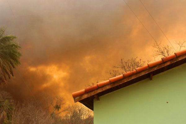Fires in the Pantanal region