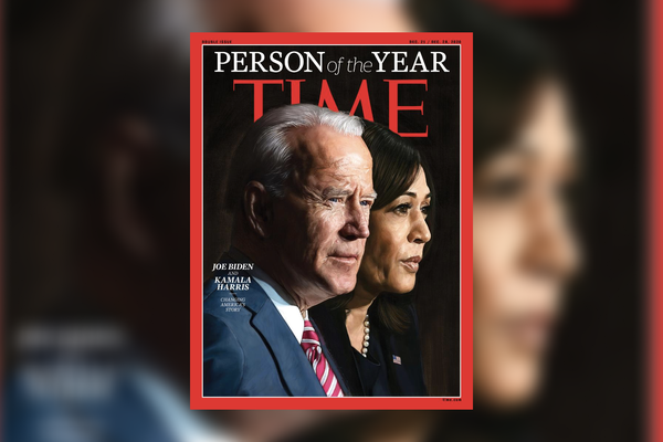 Joe Biden and Kamala Harris are named Time Person of the Year