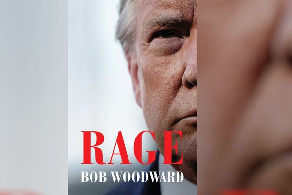 """Cover of """"Rage"""" by Bob Woodward"""