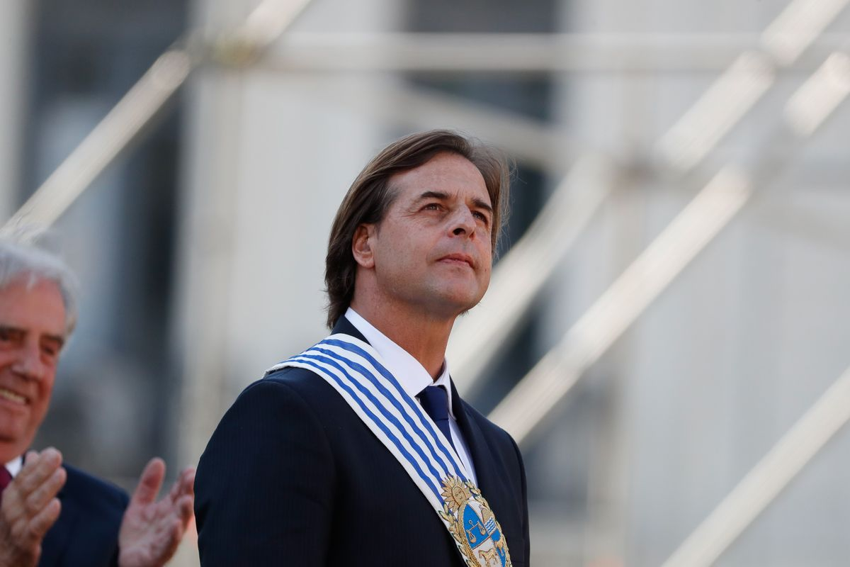 Uruguayan president Lacalle Pou in quarantine waiting for Covid-19 test results