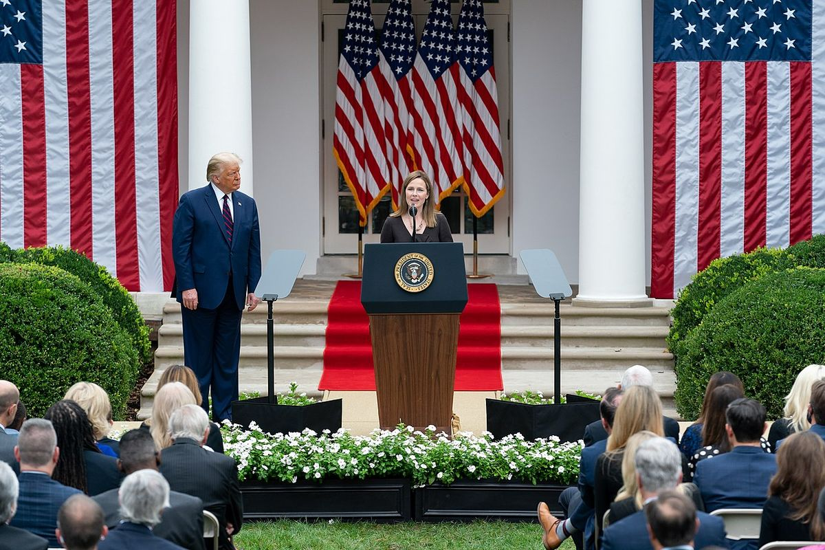 Amy Coney Barrett confirmed for Supreme Court by senate